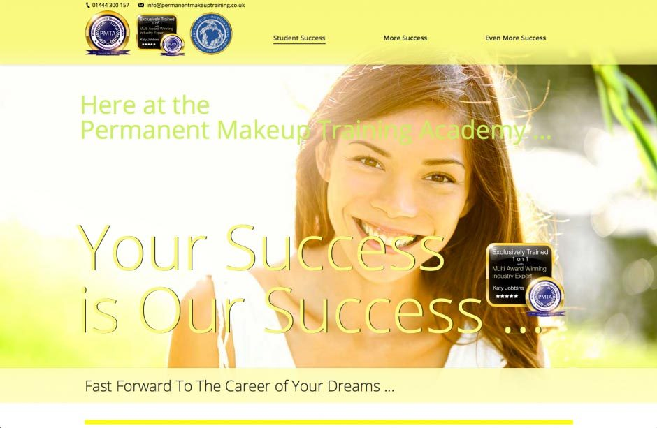 Your Success is Our Success Website