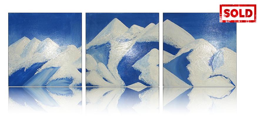 The Alps Artwork by Katy Jobbins