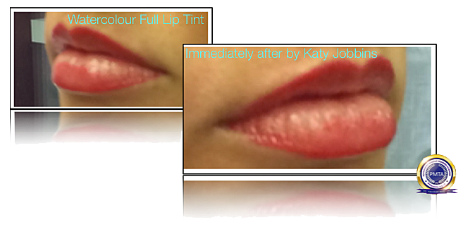 15-2-Katy Jobbins Permanent Makeup Watercolour Full Lip Tint