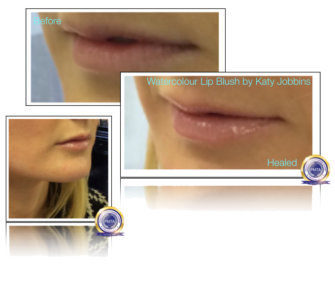 21-1-Katy Jobbins Permanent Makeup Watercolour Lip Blush for Blondes