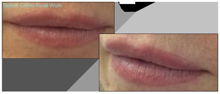 26-Katy Jobbins Permanent Makeup Watercolour Full Lip Tint And Camouflage Correctional Work