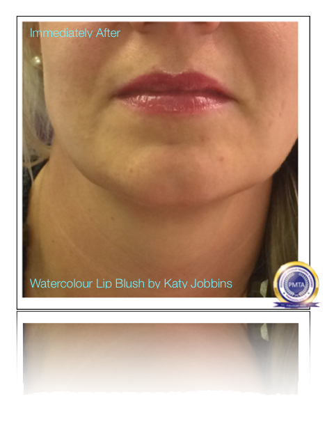 30-1-Katy Jobbins Permanent Makeup Watercolour Lip Blush