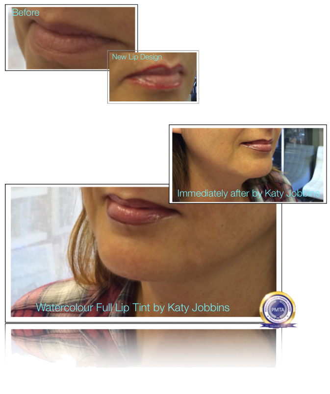 44-Katy Jobbins Permanent Makeup Watercolour Full Lip Tint
