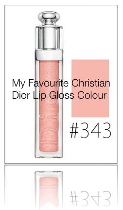 Katy Jobbins Favourite Christian Dior Lip Gloss Colour