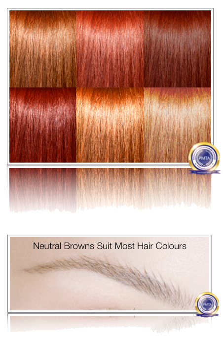 Neutral Browns Suit Most Hair Colours