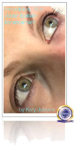 Permanent Upper Eyelash Enhancement