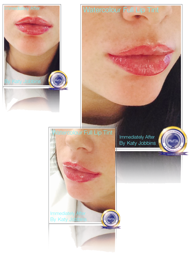 Immediately After Permanent Makeup Watercolour Full Lip Tint