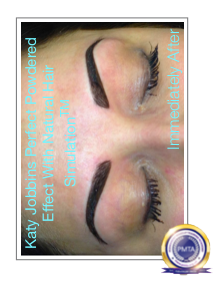 Perfect Powdered Effect With Natural Hair Simulation Permanent Makeup