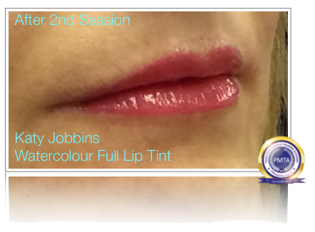 2nd Session Permanent Makeup Full Colour Lip Tint