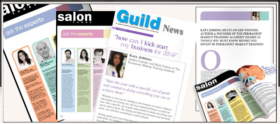 Katy Jobbins Featured Expert In Beauty Press Banner