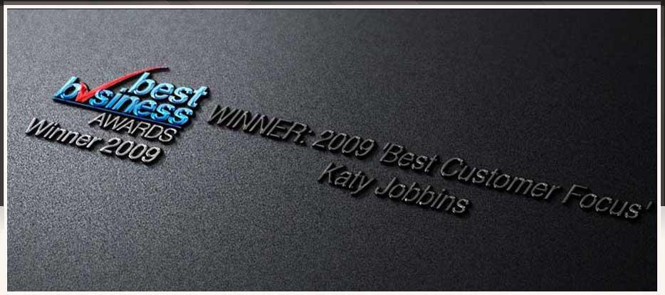 Katy Jobbins Winner 2009 Best Customer Focus