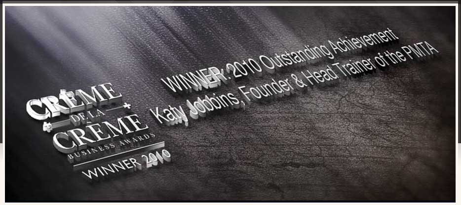 Katy Jobbins Winner 2010 Outstanding Achievement Award