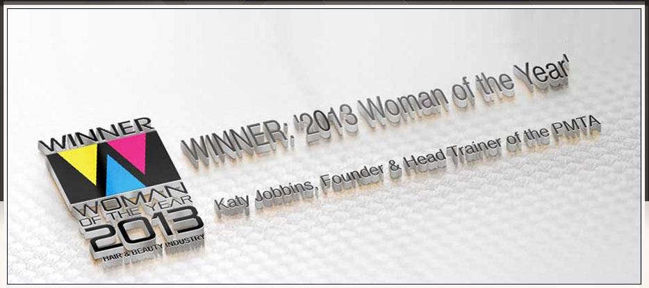 Katy Jobbins Winner 2013 Woman of the Year Award