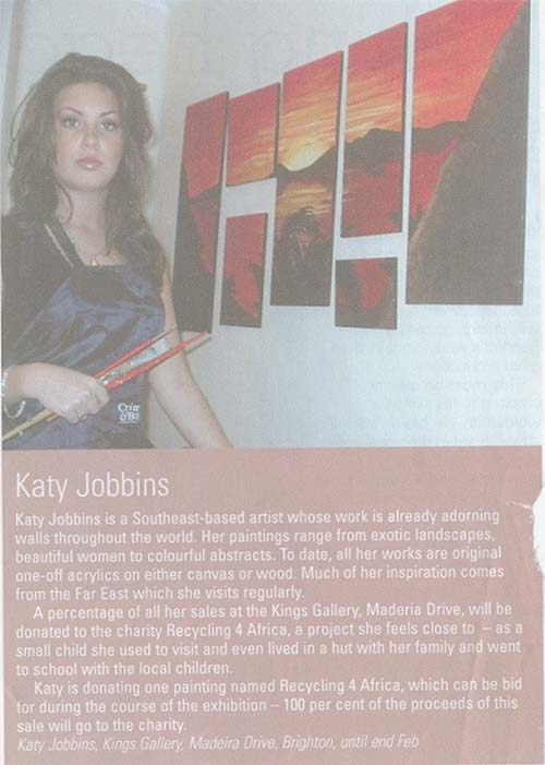 Katy in Absolute Brighton Press 3